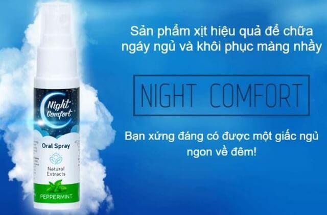 Công dụng của Night Comfort