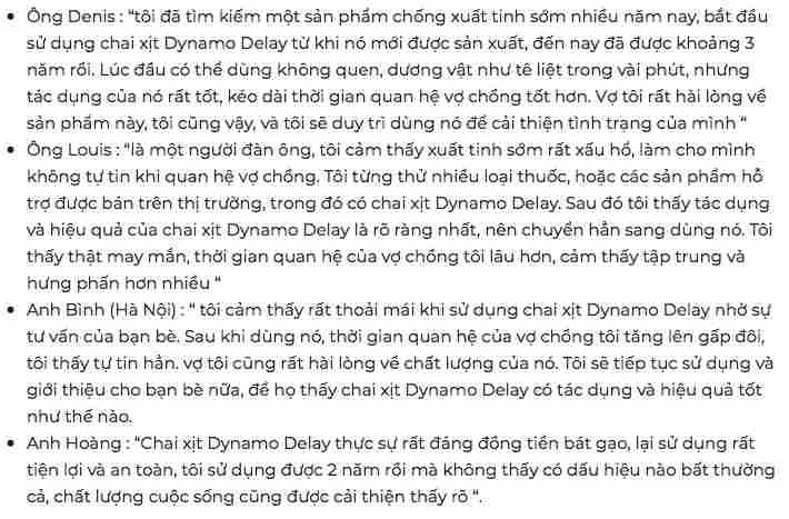 ĐÁNH GIÁ DYNAMO DELAY (2)
